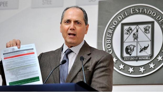 Detienen en Durango a ex secretario de Salud de Guillermo Padrés