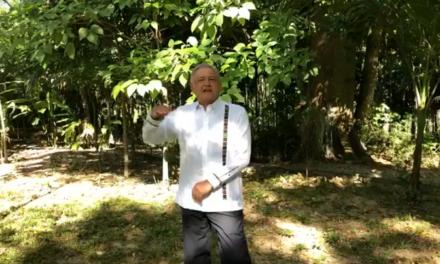 2018 fue el año de la esperanza, asegura López Obrador
