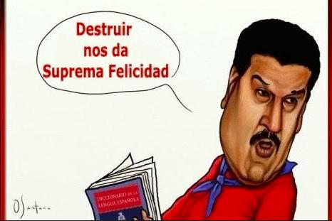 Maduro, el dictador del momento…