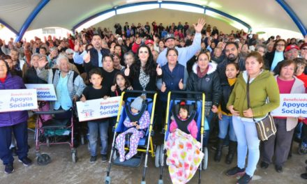 Entrega DIF Estatal más de 400 apoyos asistenciales en Mexicali