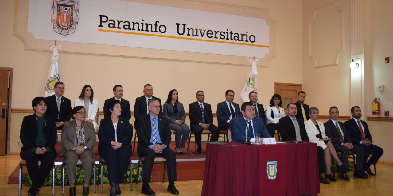 Presenta rector Valdez Delgadillo a nueva administración de la UABC