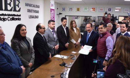 Forman Morena, PT, PVEM y Transformemos coalición en BC con Bonilla a la gubernatura