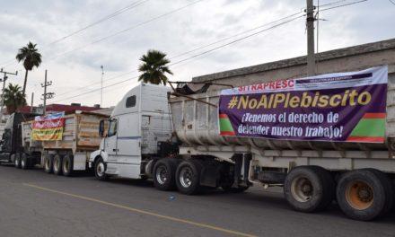 Rechazan trabajadores plebiscito contra Constellation Brands