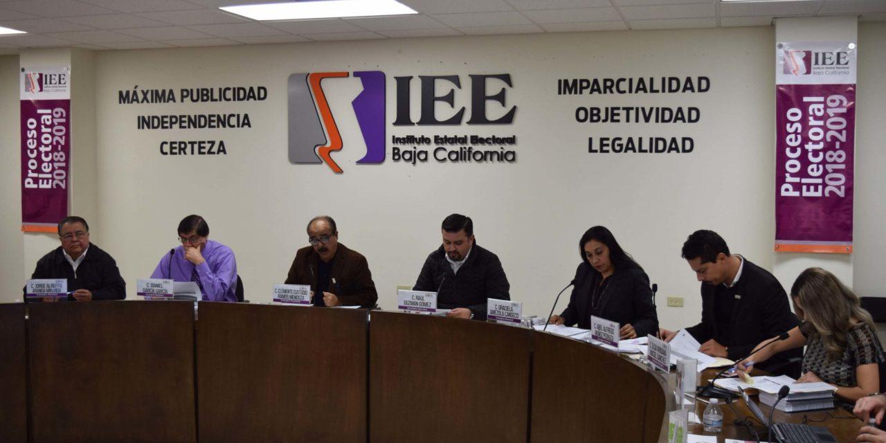 Solicitará IEEBC ampliación de recursos para proceso electoral