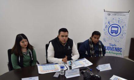 """Anuncian convocatoria para tarjeta de transporte de estudiantes """"Joven BC"""""""