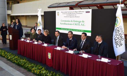 Recibe UABC acreditación internacional en programas de ingeniería