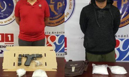 Captura PEP a dos presuntos integrantes del Cartel de Sinaloa en Mexicali