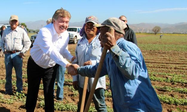 Beneficia Gobierno del Estado desarrollo del sector primario en Baja California