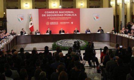 Asiste Gobernador a tercera reunión del Consejo Nacional de Seguridad Pública