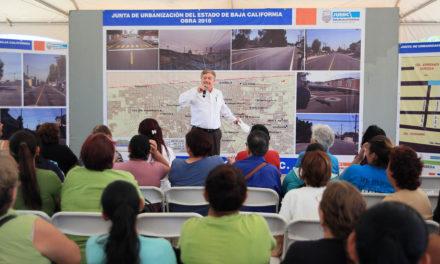 Invirtió Estado más de 300 millones de pesos en pavimentación en 2018