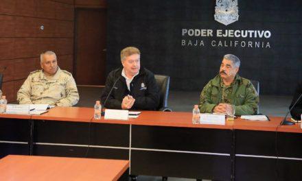 Refuerzan en Grupo de Coordinación estrategias de seguridad en BC para 2019