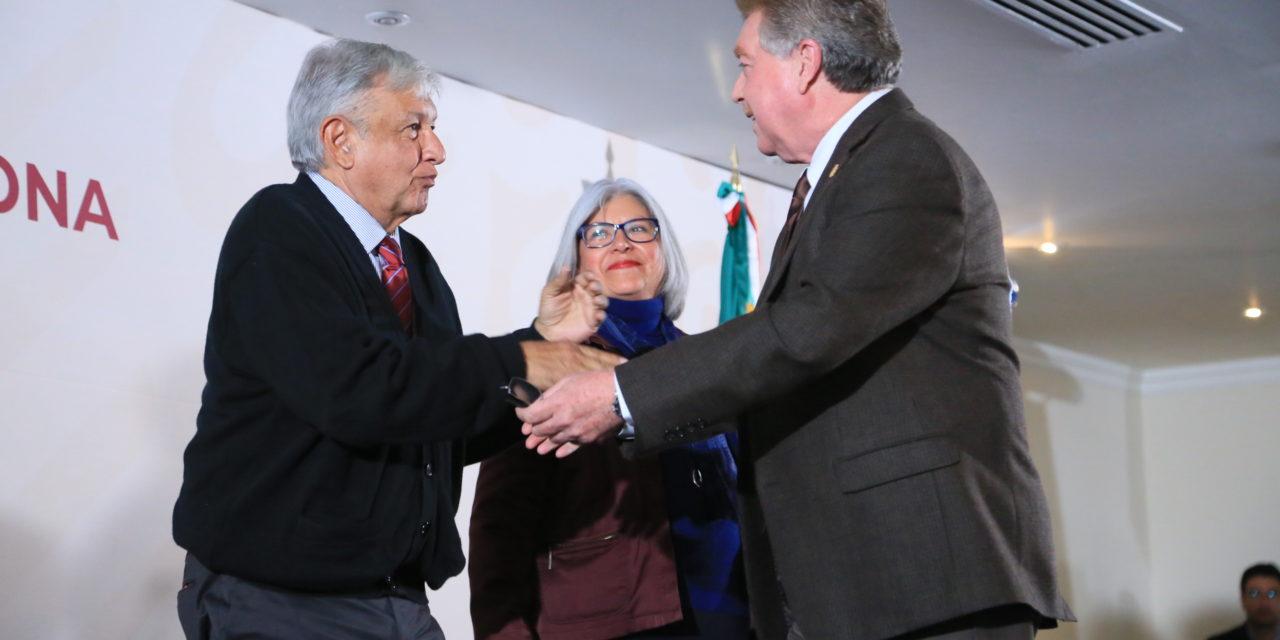 Recibirá BC apoyo de la Federación, señala AMLO en Tijuana