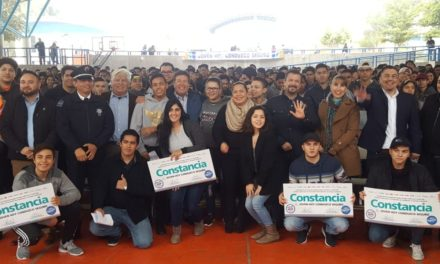 """Entregan constancias a 950 jóvenes del programa """"Joven Hoy Conduzco Seguro"""""""