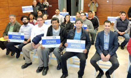 Entrega SEDECO 27 créditos por 6 mdp a empresas de Mexicali y su valle