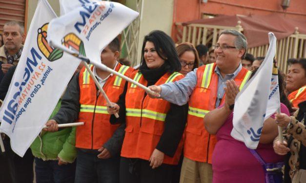 Inicia Programa Especial de Pavimentación que contempla más de 40 colonias en Mexicali