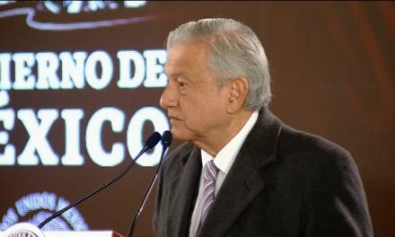 Anuncia AMLO plan social para municipios afectados por huachicoleo