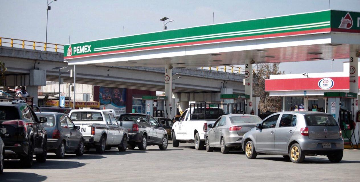 Desabasto de gasolina es por medidas contra 'huachicoleo': Pemex