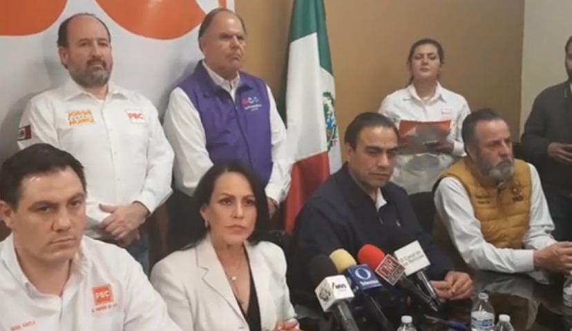 Registran Elvira Luna y Julián Leyzaola sus precandidaturas en el PBC