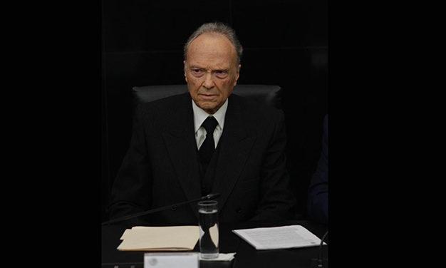 Elige Senado a Alejandro Gertz Manero como Fiscal General de la República