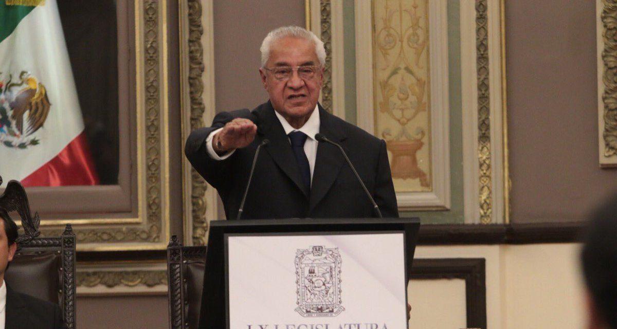 Eligen a priísta como gobernador interino de Puebla