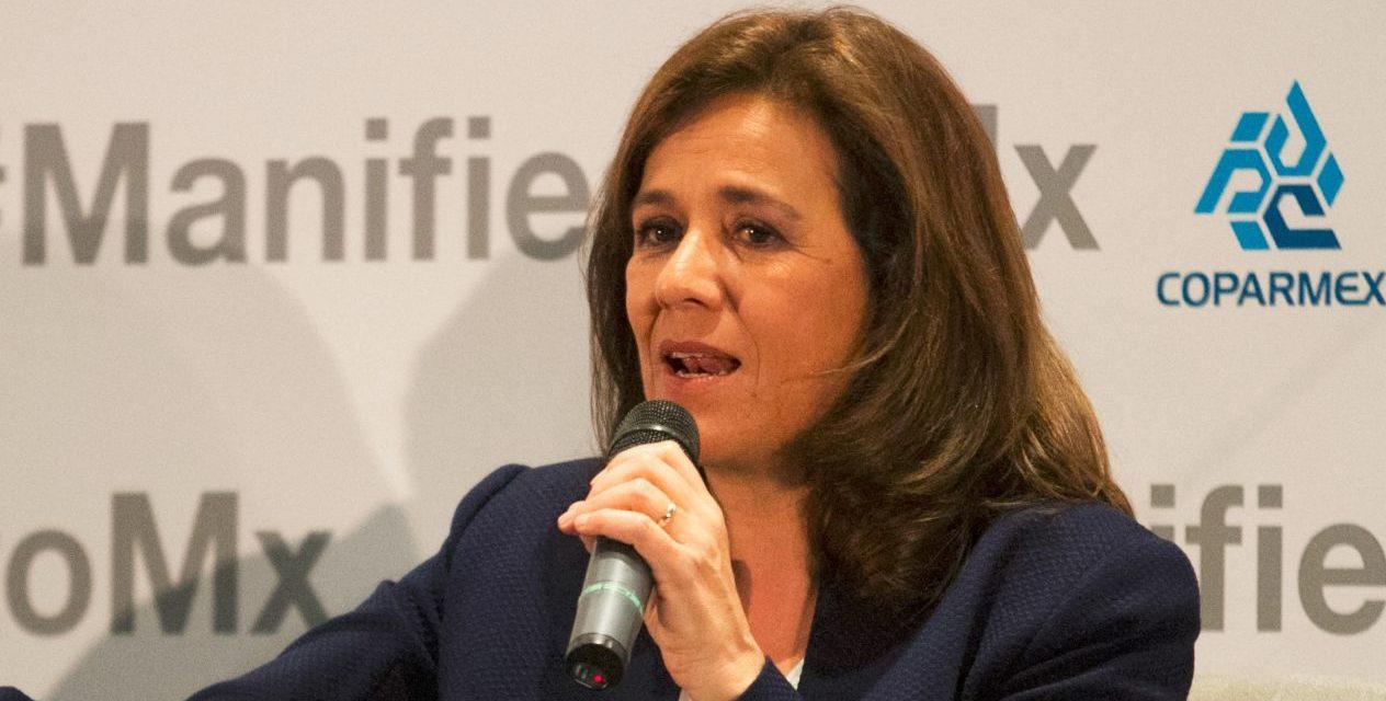 """Registra Margarita Zavala a """"Libre"""" como partido político ante el INE"""