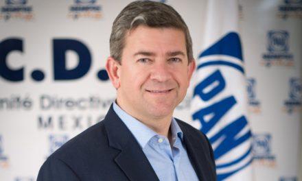 Anuncia CEN del PAN respaldo a Vega Marín como precandidato único a la gubernatura
