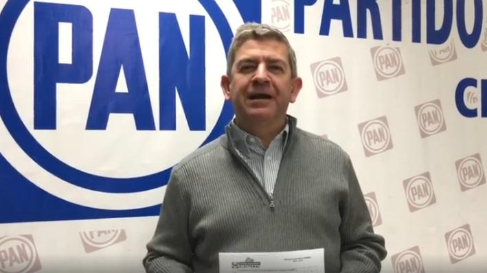 Se registra Vega Marín como precandidato del PAN a la gubernatura