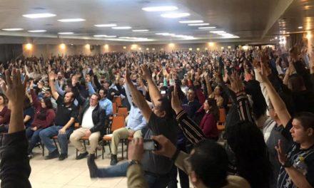 Suspenden derechos sindicales de Victoria Bentley y Genaro Díaz por 30 años