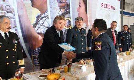 Conmemoran aniversario de la creación de la Fuerza Aérea Mexicana