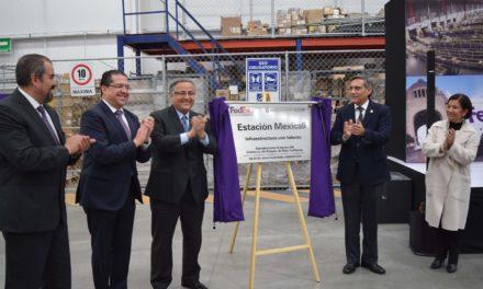 Inaugura FedEx nueva estación operativa en Mexicali