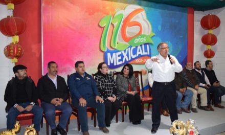 Anuncian programa de actividades alusivos al 116 aniversario de Mexicali