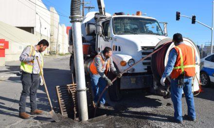 Realiza CESPM macro operativo de limpieza en bulevar Carranza