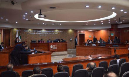 Aprueba Congreso del Estado Haber de Retiro para magistrados