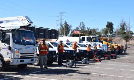 Adquieren unidades y equipos para las direcciones de obras y servicios públicos