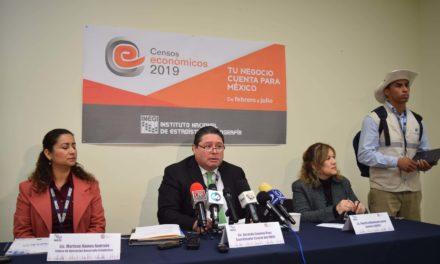Da inicio el Censo Económico 2019 de INEGI