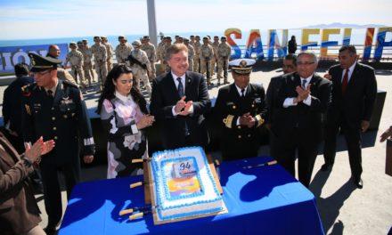 Realizan celebración por el 102 Aniversario de la Promulgación de la Constitución Mexicana