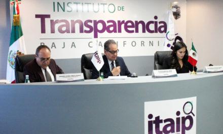 Iniciará ITAIPBC auditorías de Gobierno Abierto a entidades públicas
