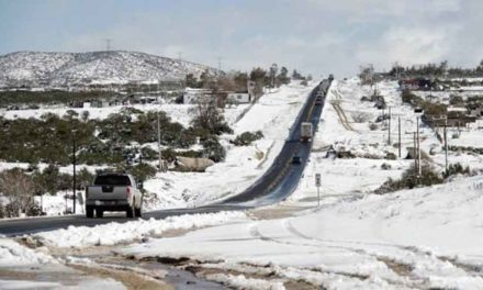 Emiten autoridades alerta ante pronóstico de nevadas a partir de este martes