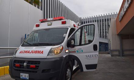 Recibe Sector Salud 3 nuevas ambulancias para urgencias