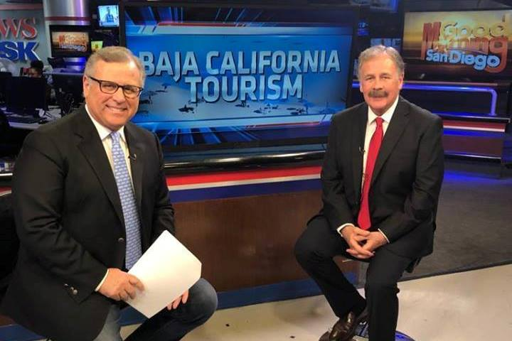 Promueven turismo de Baja California en televisoras de San Diego