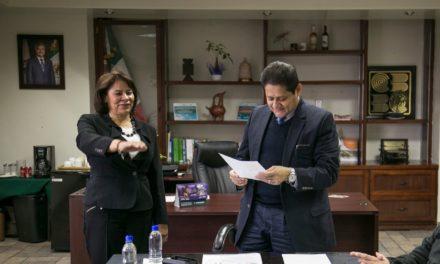 Toman protesta a Rosario Rodríguez como nueva titular de COBACH
