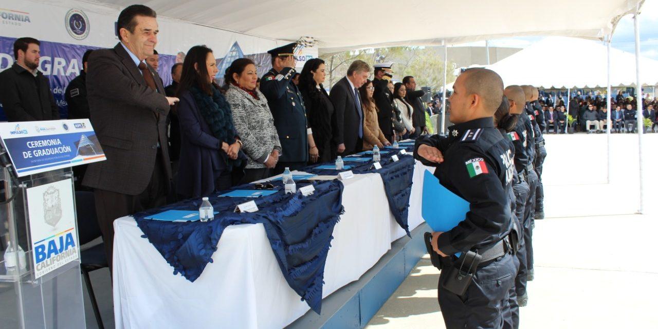 Se gradúan 150 nuevos elementos policíacos de la ASPE