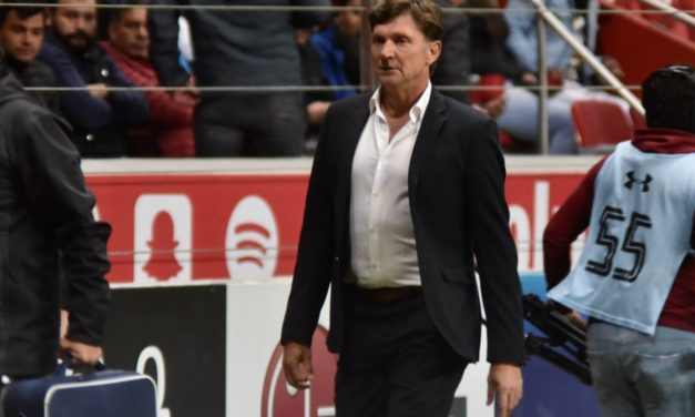 Hernán Cristante es cesado como técnico del Toluca