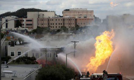 Explosión de tubería de gas en San Francisco afecta a cinco edificios