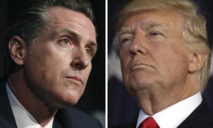 Trump critica a gobernador de California por demanda contra declaración de emergencia