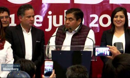 Barbosa confirma que sí va por candidatura de Morena por gubernatura de Puebla