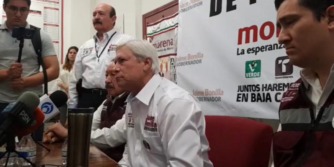 """""""Ésta será una elección de Estado"""": Bonilla"""
