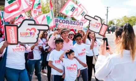 Arranca Lupita Gutiérrez con gran aceptación de la ciudadanía