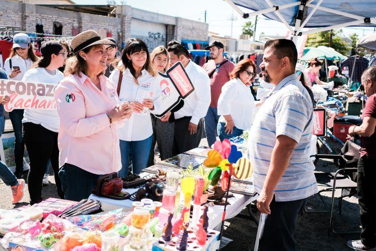 Propone Lupita Gutiérrez botones de pánico en las colonias