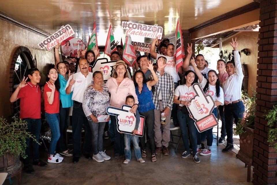 Va Lupita Gutiérrez por la recuperación de espacios públicos